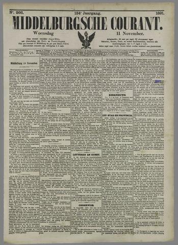 Middelburgsche Courant 1891-11-11