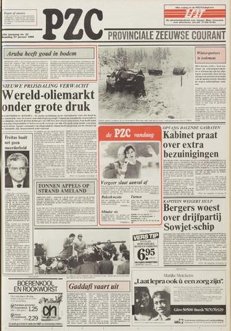 Provinciale Zeeuwse Courant 1986-01-27