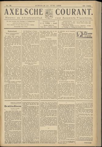 Axelsche Courant 1938-06-21