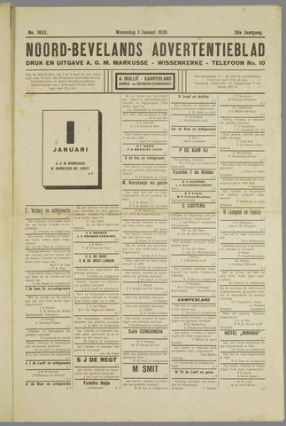 Noord-Bevelands Nieuws- en advertentieblad 1929
