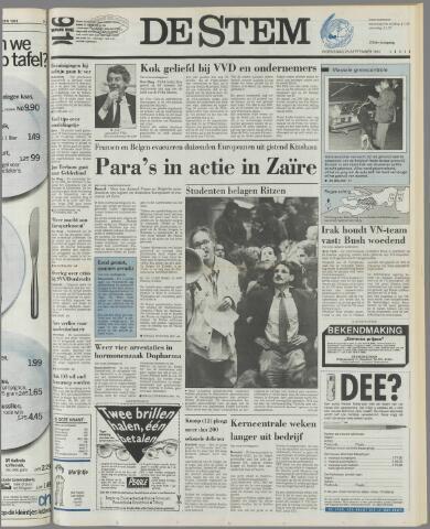 de Stem 1991-09-25