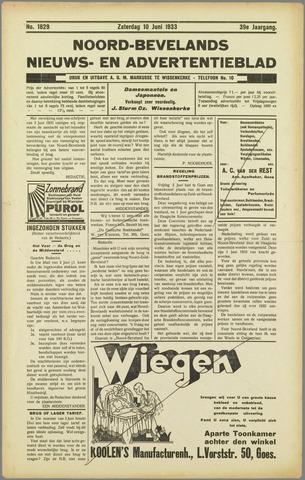 Noord-Bevelands Nieuws- en advertentieblad 1933-06-10