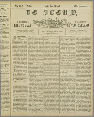 De Zeeuw. Christelijk-historisch nieuwsblad voor Zeeland 1906-07-28
