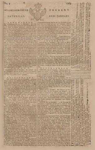 Middelburgsche Courant 1785