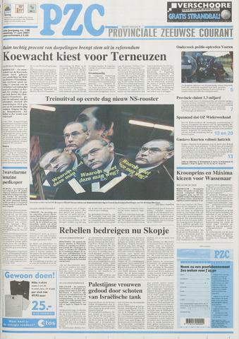 Provinciale Zeeuwse Courant 2001-06-11