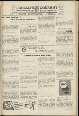 Axelsche Courant 1952-05-31