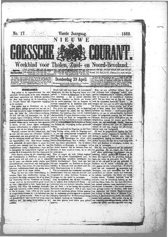 Nieuwe Goessche Courant 1869-04-29