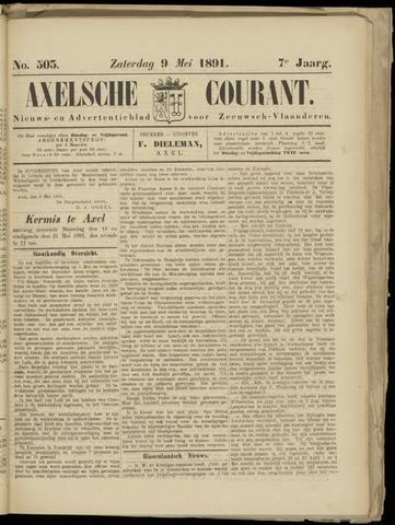 Axelsche Courant 1891-05-09