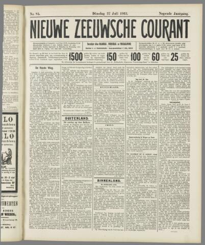 Nieuwe Zeeuwsche Courant 1913-07-22