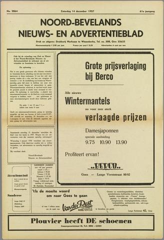 Noord-Bevelands Nieuws- en advertentieblad 1957-12-14