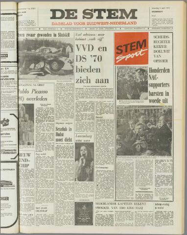 de Stem 1973-04-09