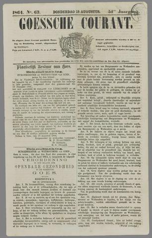 Goessche Courant 1864-08-18