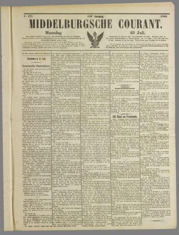 Middelburgsche Courant 1906-07-23