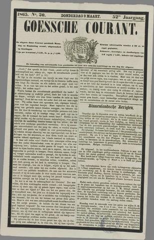Goessche Courant 1865-03-09