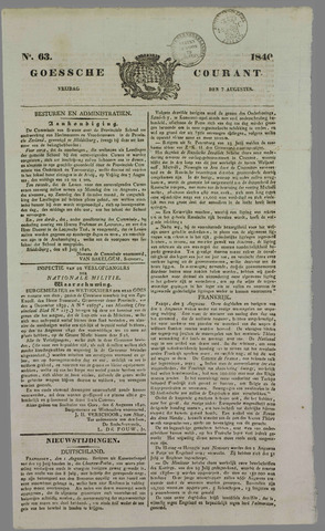 Goessche Courant 1840-08-07