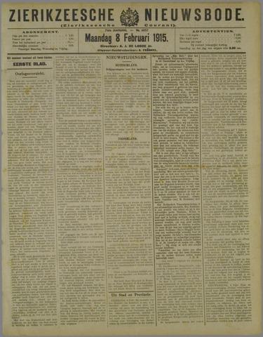 Zierikzeesche Nieuwsbode 1915-02-08