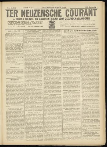 Ter Neuzensche Courant. Algemeen Nieuws- en Advertentieblad voor Zeeuwsch-Vlaanderen / Neuzensche Courant ... (idem) / (Algemeen) nieuws en advertentieblad voor Zeeuwsch-Vlaanderen 1940-10-11