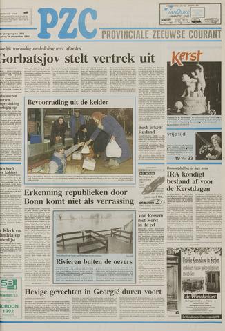Provinciale Zeeuwse Courant 1991-12-24