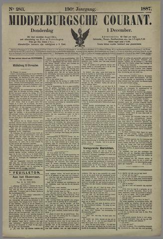 Middelburgsche Courant 1887-12-01