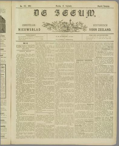 De Zeeuw. Christelijk-historisch nieuwsblad voor Zeeland 1895-09-10