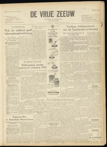 de Vrije Zeeuw 1956-08-23