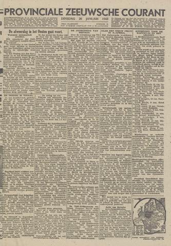 Provinciale Zeeuwse Courant 1943-01-26