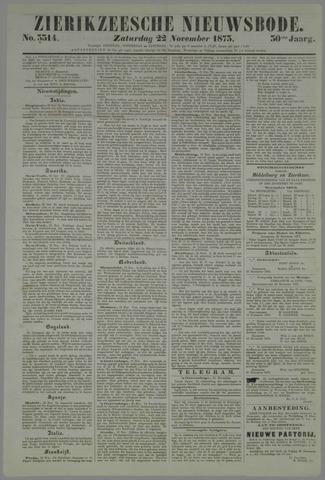 Zierikzeesche Nieuwsbode 1873-11-22