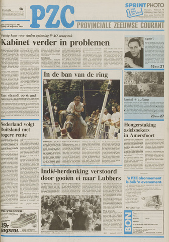 Provinciale Zeeuwse Courant 1991-08-16