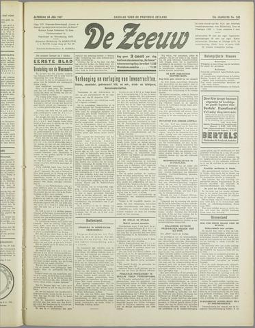De Zeeuw. Christelijk-historisch nieuwsblad voor Zeeland 1937-07-24