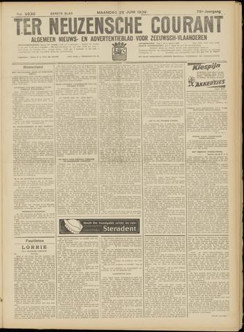 Ter Neuzensche Courant. Algemeen Nieuws- en Advertentieblad voor Zeeuwsch-Vlaanderen / Neuzensche Courant ... (idem) / (Algemeen) nieuws en advertentieblad voor Zeeuwsch-Vlaanderen 1939-06-26
