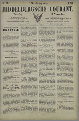 Middelburgsche Courant 1883-11-17
