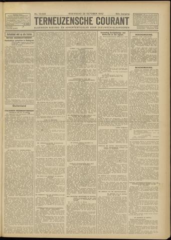 Ter Neuzensche Courant. Algemeen Nieuws- en Advertentieblad voor Zeeuwsch-Vlaanderen / Neuzensche Courant ... (idem) / (Algemeen) nieuws en advertentieblad voor Zeeuwsch-Vlaanderen 1942-10-28