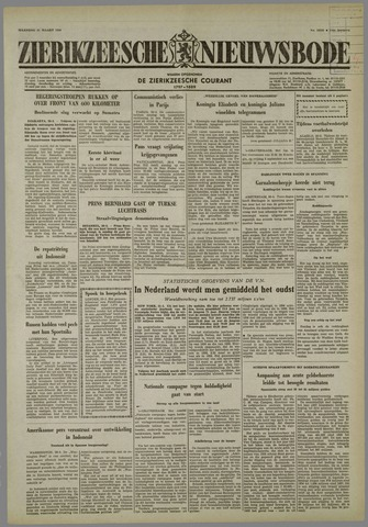 Zierikzeesche Nieuwsbode 1958-03-31
