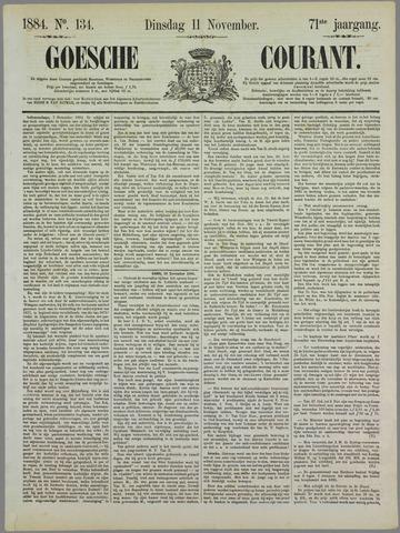 Goessche Courant 1884-11-11