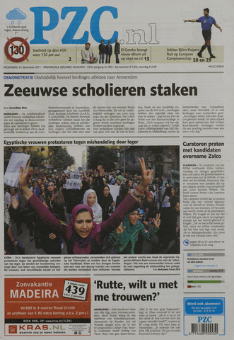 Provinciale Zeeuwse Courant 2011-12-21