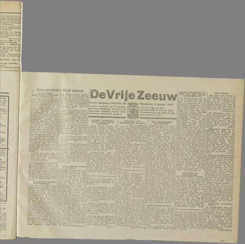 de Vrije Zeeuw 1945-01-03