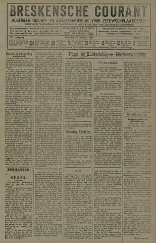 Breskensche Courant 1927-10-22