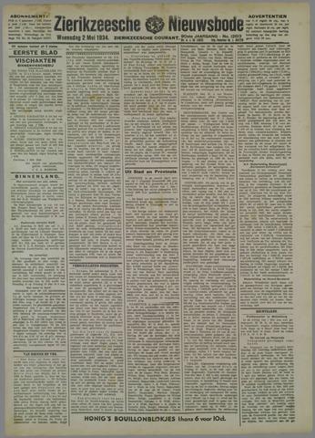 Zierikzeesche Nieuwsbode 1934-05-02