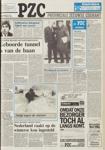 Provinciale Zeeuwse Courant 1987-01-16