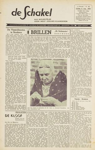 De Schakel 1963-08-09