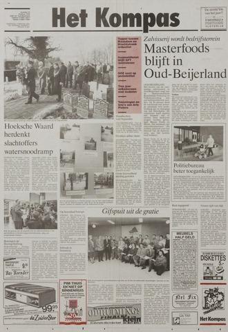 Watersnood documentatie 1953 - kranten 1993-02-03