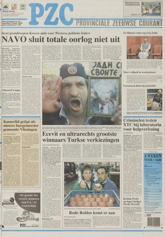 Provinciale Zeeuwse Courant 1999-04-19