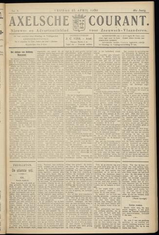 Axelsche Courant 1930-04-25
