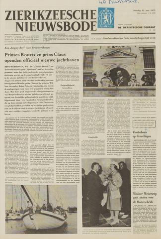 Zierikzeesche Nieuwsbode 1973-06-12