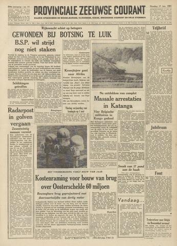 Provinciale Zeeuwse Courant 1961-01-17