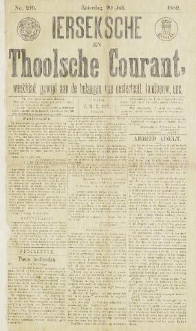 Ierseksche en Thoolsche Courant 1889-07-20