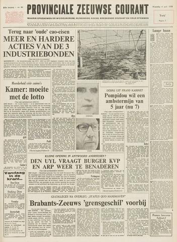 Provinciale Zeeuwse Courant 1973-04-04