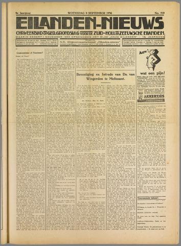 Eilanden-nieuws. Christelijk streekblad op gereformeerde grondslag 1936-09-09