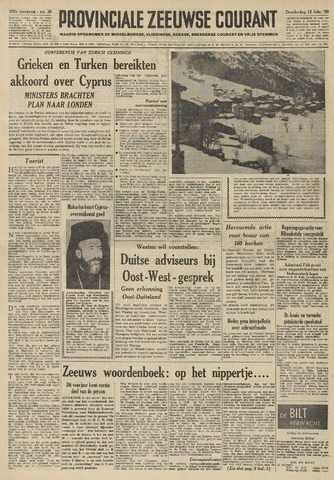 Provinciale Zeeuwse Courant 1959-02-12