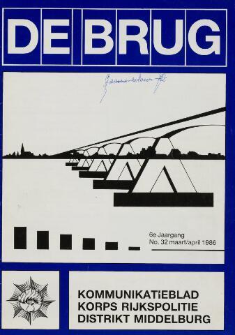 Watersnood documentatie 1953 - tijdschriften 1986-03-01